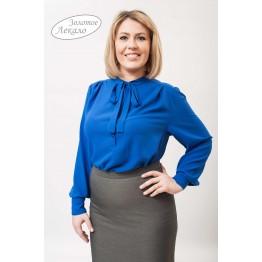 Блуза женская М010-Т Креп электрик