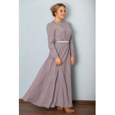 Платье М036-Пл Вискоза горошек
