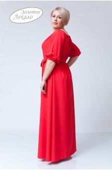Платье М020-П Хлопок красный
